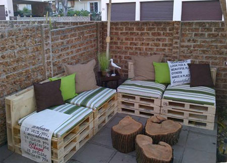 how to build lawn furniture out of pallets build patio furniture
